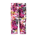 legginsy 3/4 adidas Ultimate Fit Flower AJ5031