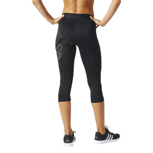 legginsy adidas Techfit Badge of Sport Capris BQ9495