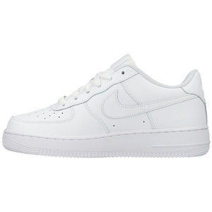 Nike Air Force 1 Low (GS) All White 314192 117