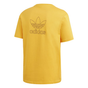 koszulka adidas Trefoil Boxy Tee with Front and Back Print GE0824