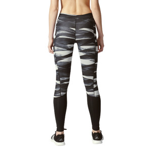 legginsy adidas Techfit Long Print Tights BQ7128