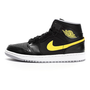Air Jordan 1 Mid Vibrant Yellow 554724 070