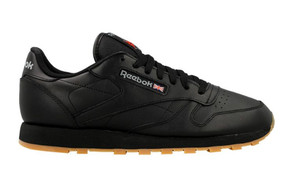 "Reebok Classic Leather ""Black/Gum"" 49800"