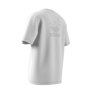 koszulka adidas Trefoil Boxy Tee with Front and Back Print GE0825