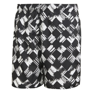 szorty adidas do pływania Printed Check Swim Shorts DZ7538