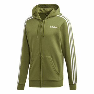 bluza Essentials 3 Stripes Fullzip Fleece FI0849
