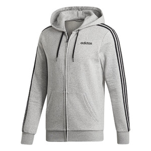 bluza adidas Essentials 3 Stripes Fullzip Fleece DU0476