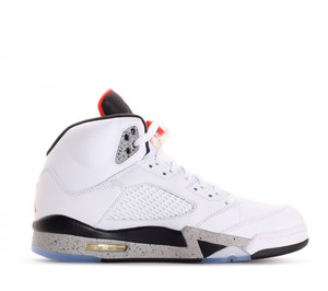 buty Air Jordan 5 Retro White/Cement 136027 104