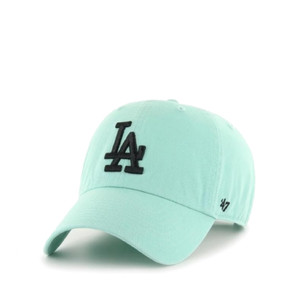 czapka 47 Brand Los Angeles Dodgers Clean Up B-RGW12GWSNL-TFA