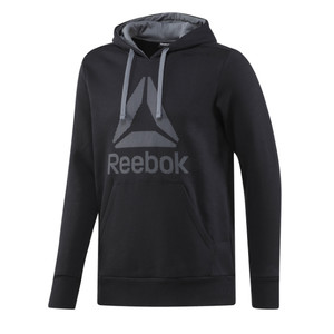 bluza Reebok Workout Ready Big Logo Cotton Poly BK4158