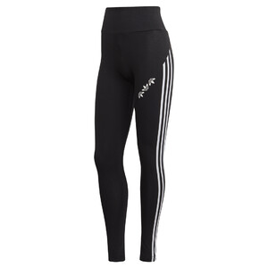 legginsy adidas Adicolor Sliced Trefoil High-Waisted Tights GT8469