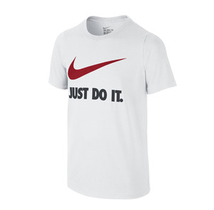"koszulka Nike ""Just Do It"" Swoosh Crew 709952 100"
