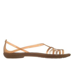 sandały Crocs Isabella Sandal W Bronze 202465 854