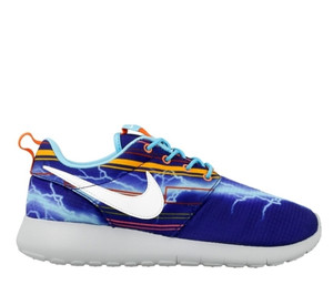 "Nike Roshe One Print (GS) ""Back to the Future"" 677782 401"