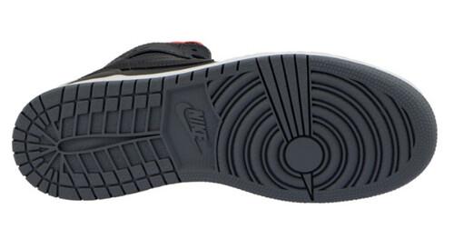Buty NIKE Air Jordan 1 Retro High Bg 705300 017 Black