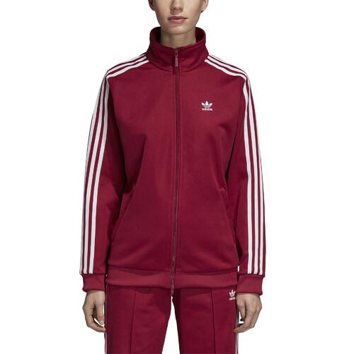 Adibreak Track Jacket In Maroon Red (adidas Originals