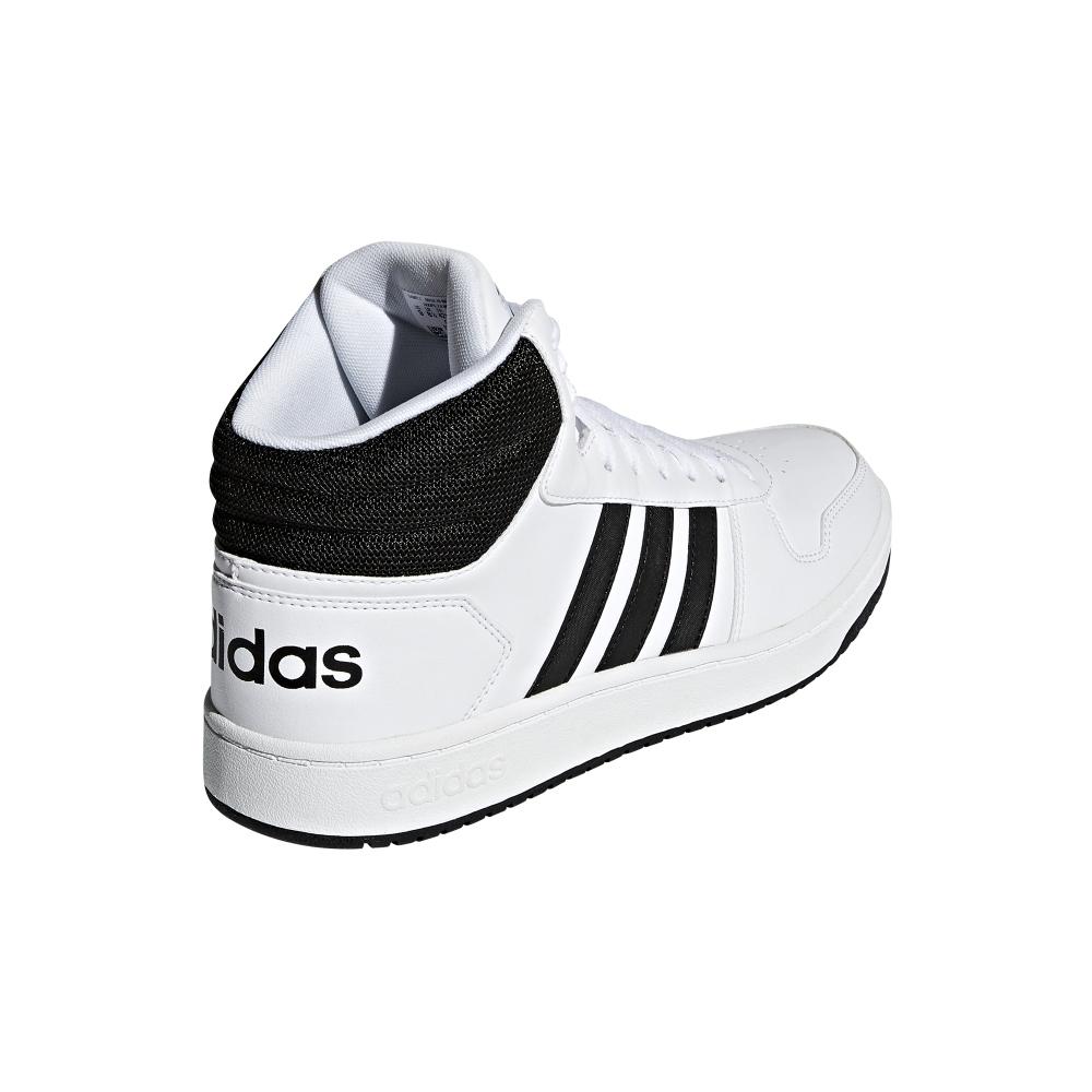 Adidas Buty męskie Hoops 2.0 Mid białe r. 46 (BB7208) ID produktu: 5702901
