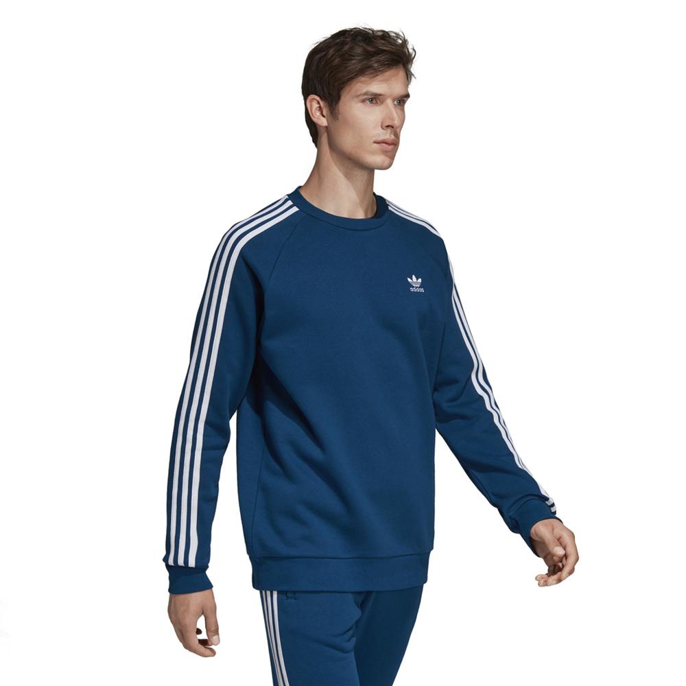 bluza adidas Essentials 3 Stripes Crew DV1554