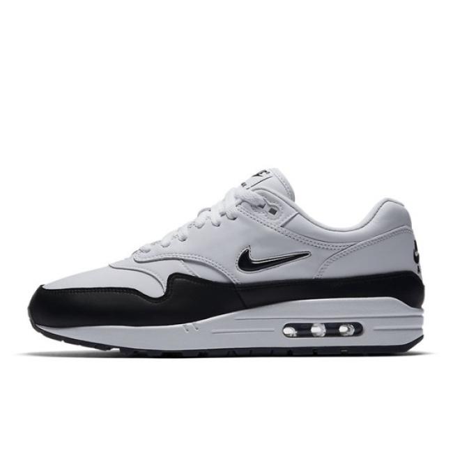 Nike Air Max 1 Jewel Black White 918354 100