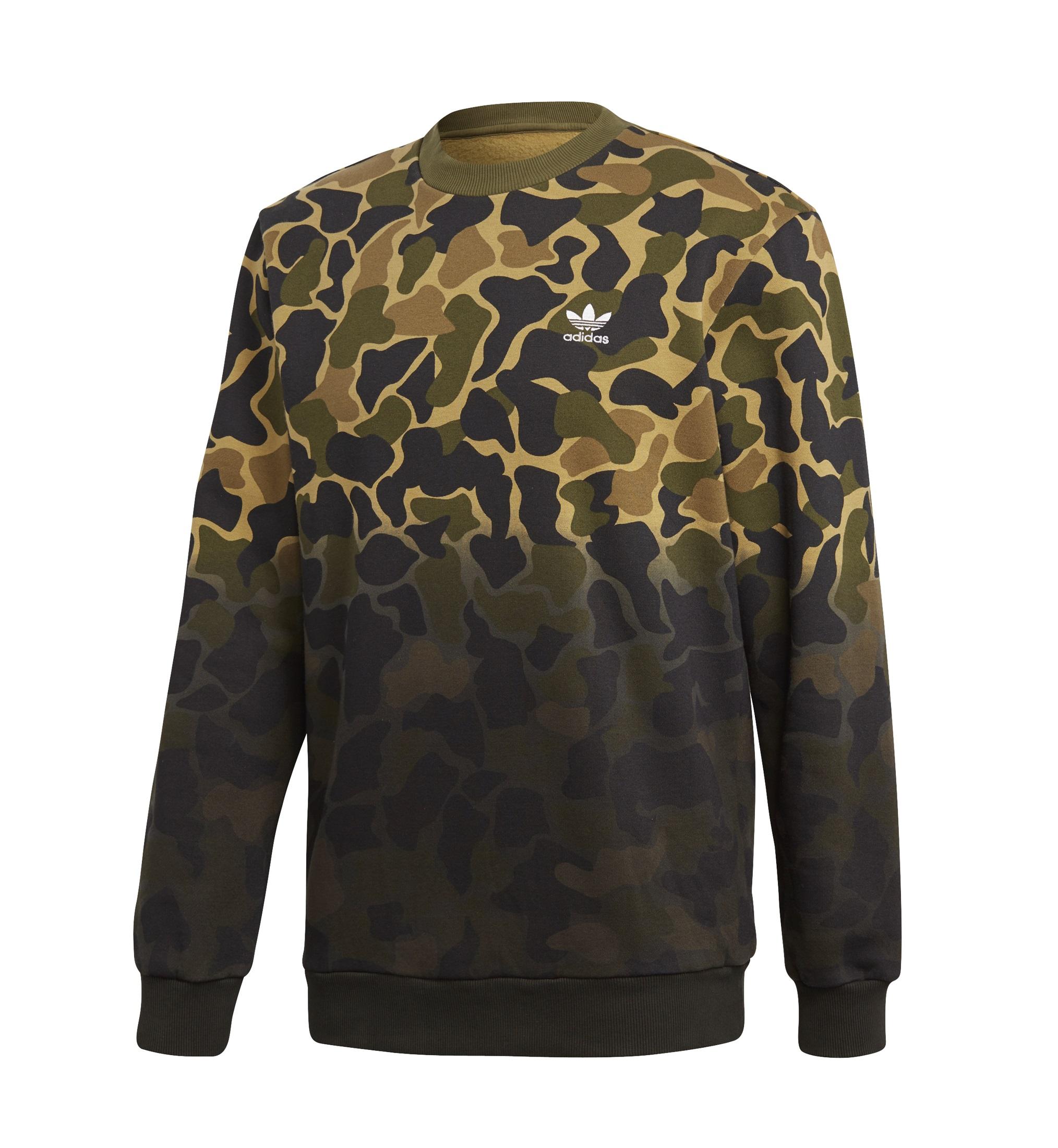 bluza adidas Camo Crew CE2463