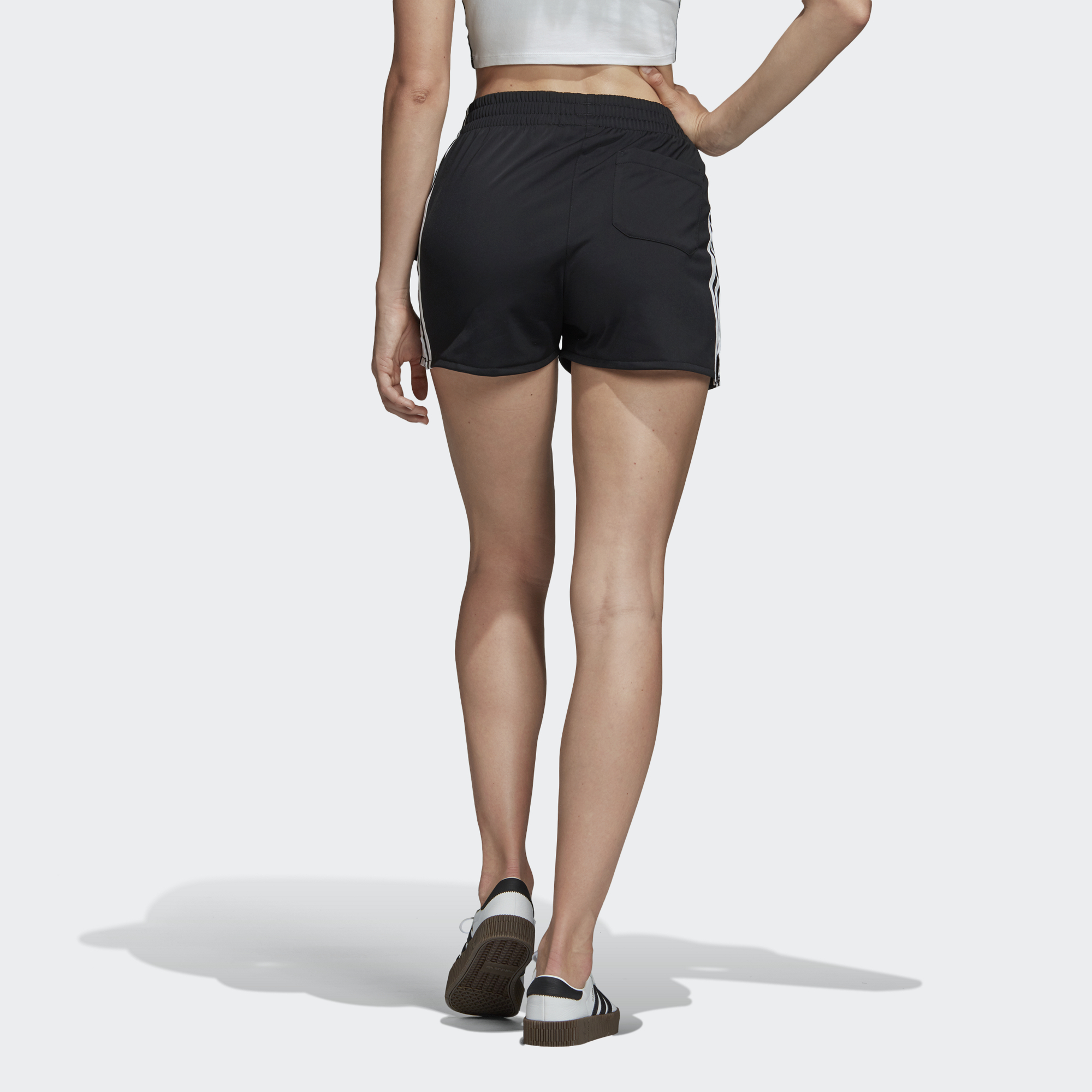 Szorty Adidas Originlas WMNS 3 Stripes Short black