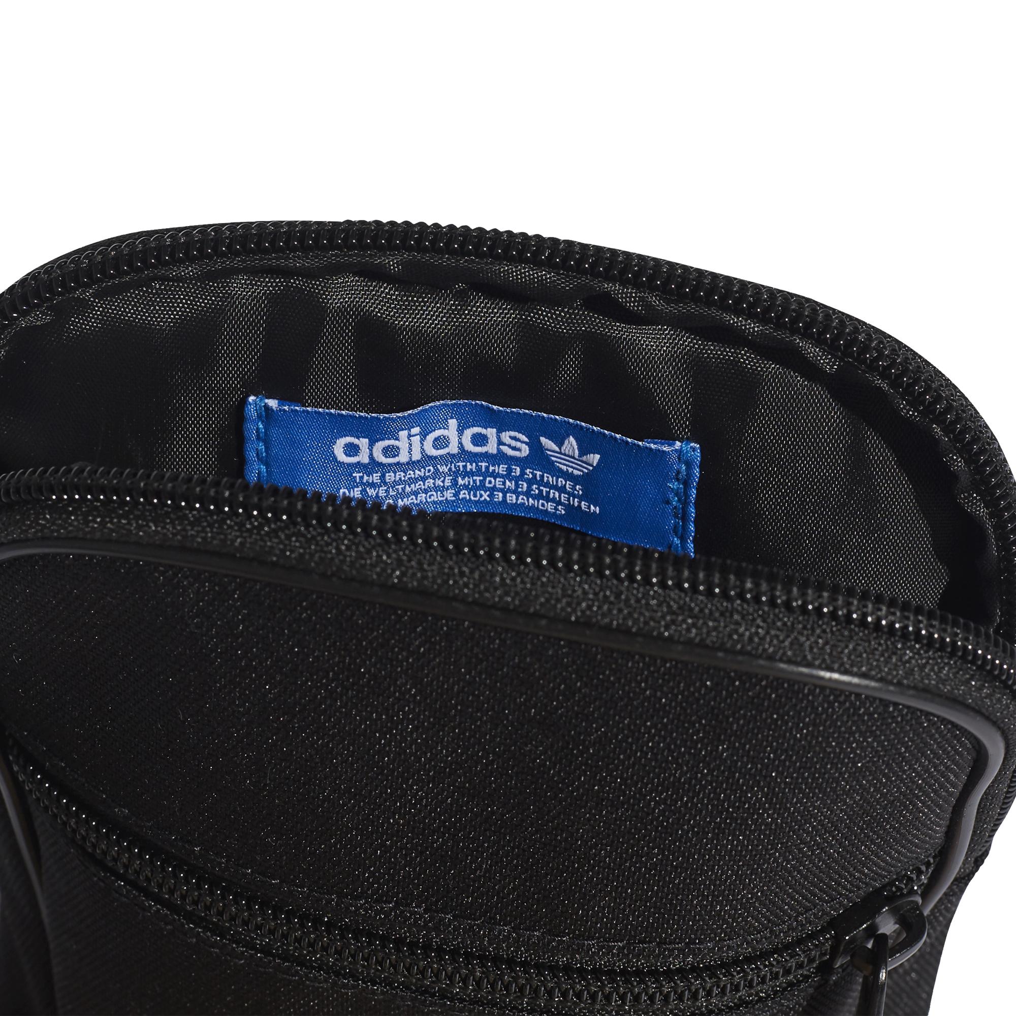 0ce089b5209d6 mała czarna torebka saszetka adidas Trefoil Festival Bag BK6730 ...