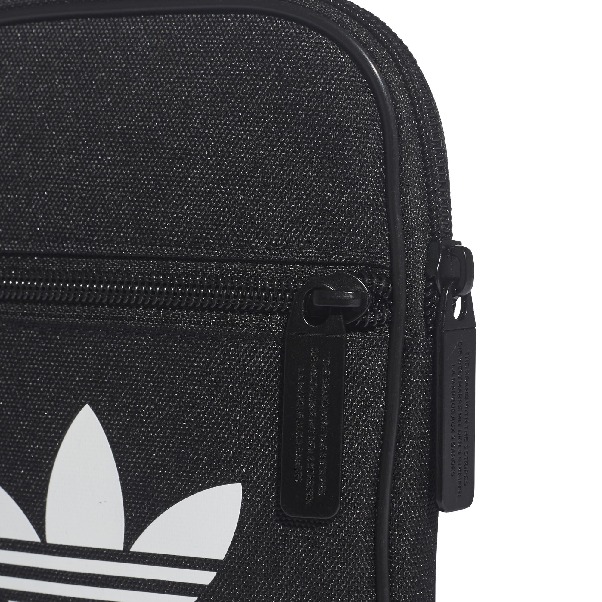 cc09cad4b mała czarna torebka saszetka adidas Trefoil Festival Bag BK6730 ...