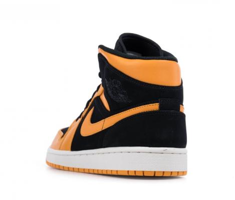 low priced 93d28 697fe ... Air Jordan 1 Mid Black Orange Peel 554724 081 ...