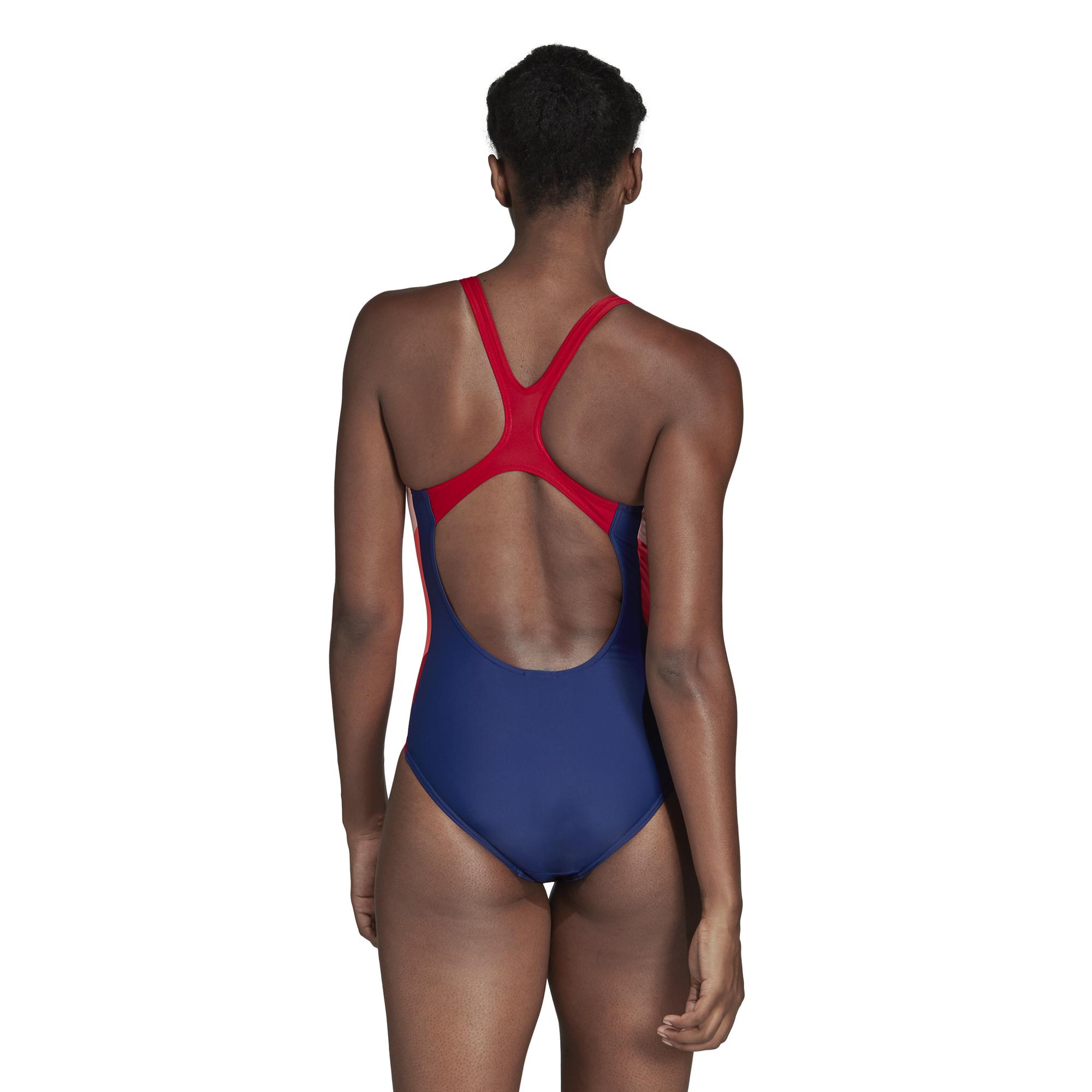 0073da1521775 ... strój kąpielowy adidas Athly X Colorblock Swimsuit DH2389 ...
