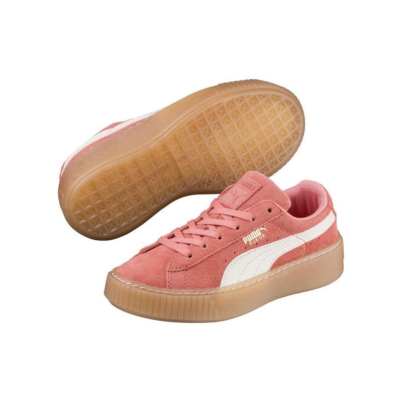Buty damskie sneakersy Puma Suede Platform SNK 363906 04