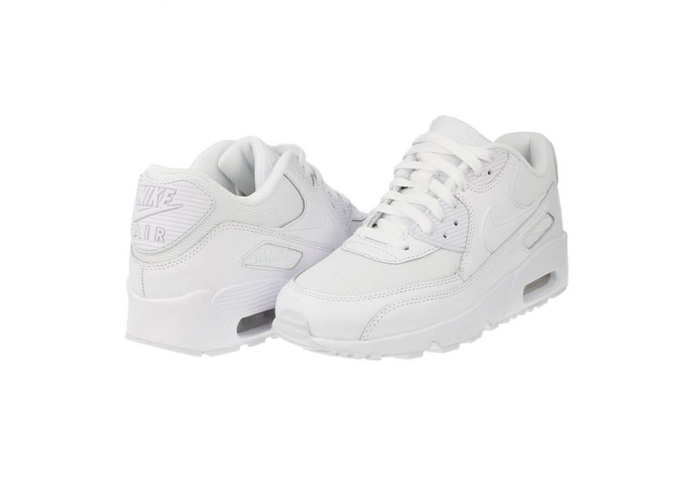 buty młodzieżowe Nike Air Max 90 Mesh GS 833418 100 8b0aa28b8c0