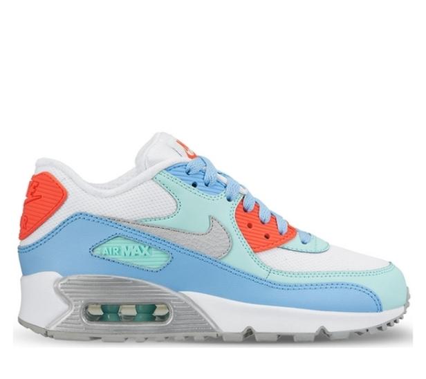 watch 4e979 415a9 buty Nike Air Max 90 Mesh Gs 724855 100 ...