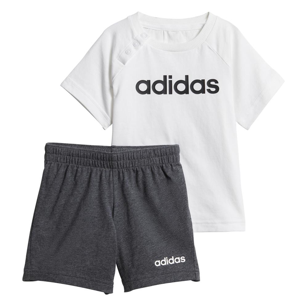 de acuerdo a Janice Aditivo  komplet dziecięcy adidas Linear Summer Set DX2454 || timsport.pl -  dodatkowe zniżki, super ceny