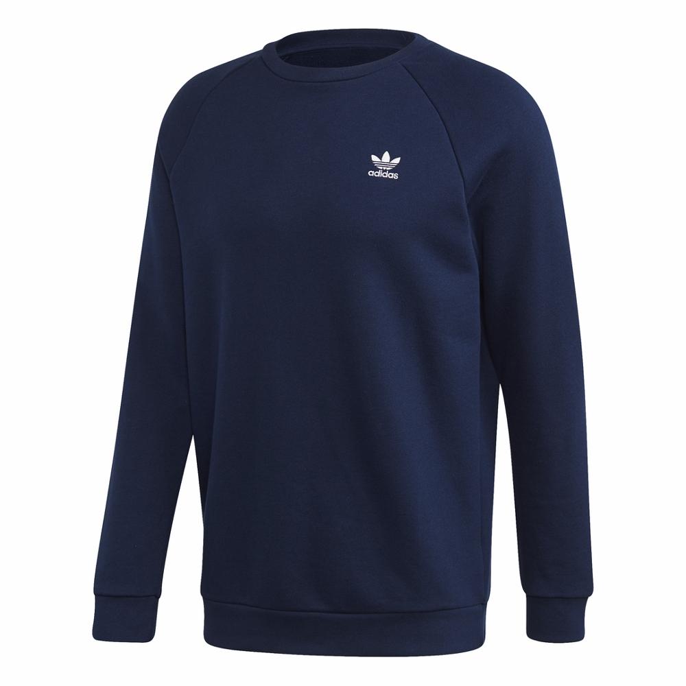bluza adidas z napisem i małym logiem