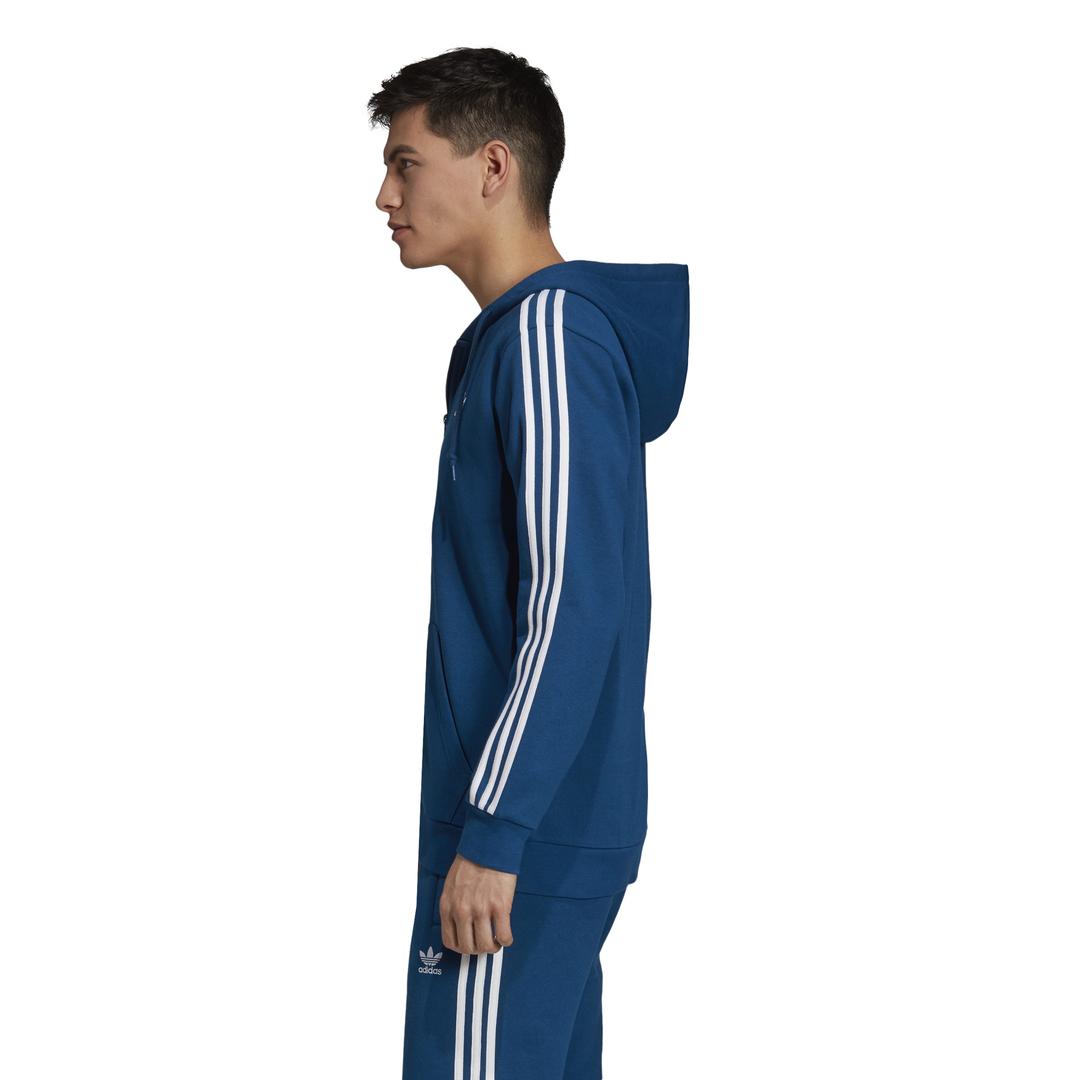 bluza adidas 3 stripes blue