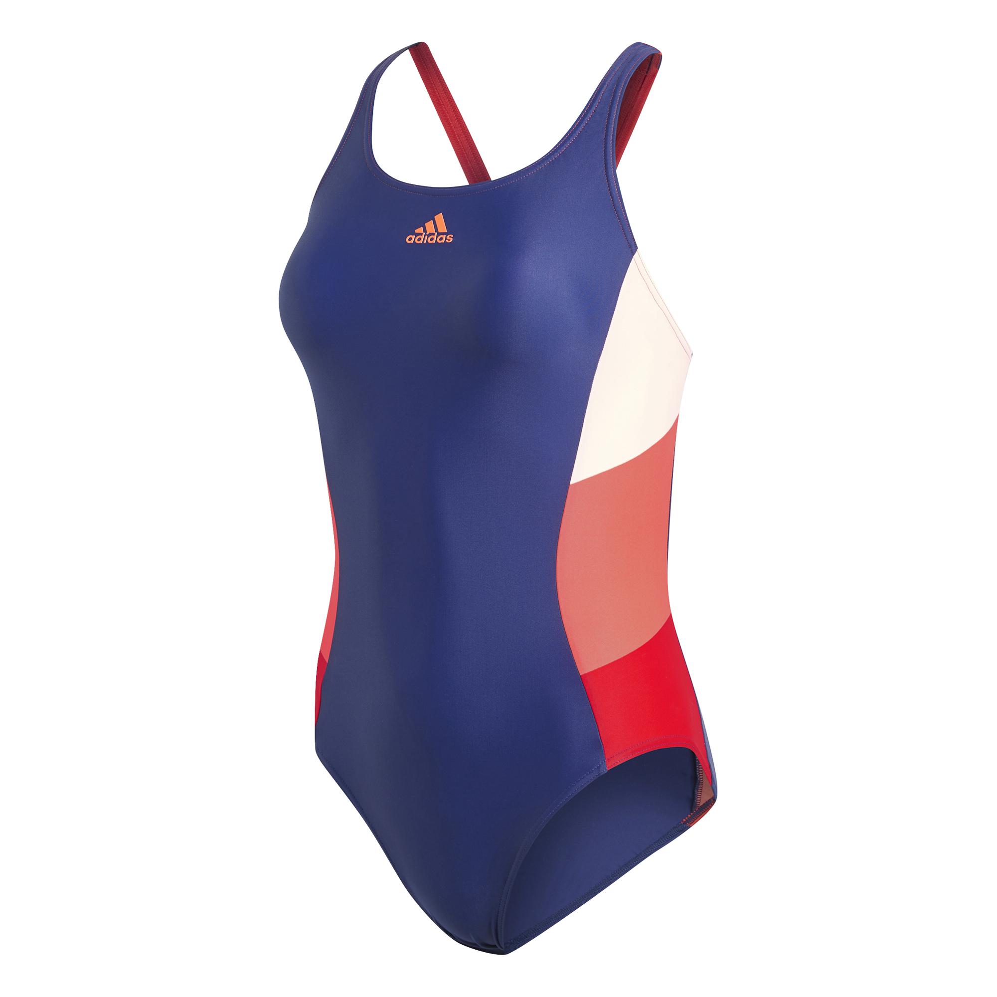 8b3108bc2cf62 strój kąpielowy adidas Athly X Colorblock Swimsuit DH2389 ...