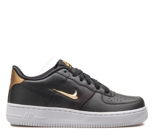 Nike air force, czarno zlote!