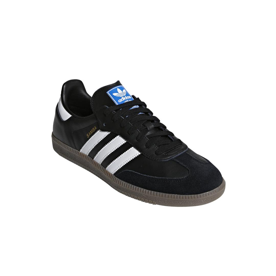 adidas Originals Buty sportowe Samba OG Biały z czarnym