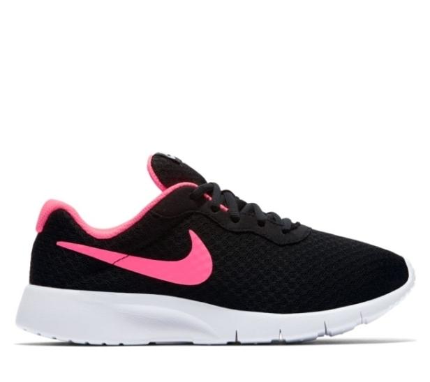 Nike Girl/'s Nike Tanjun White//Black Running Walking Shoes 818384 061