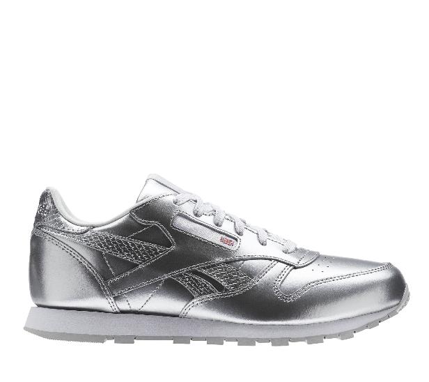 9ea5a4d47d48b buty Reebok Classic Leather Metallic Srebrny BS8945 || timsport.pl ...