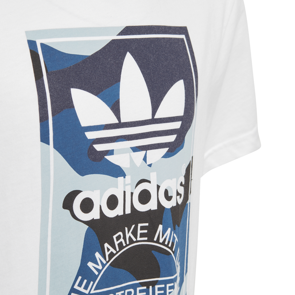 koszulka adidas Camo Trefoil Kids D96092
