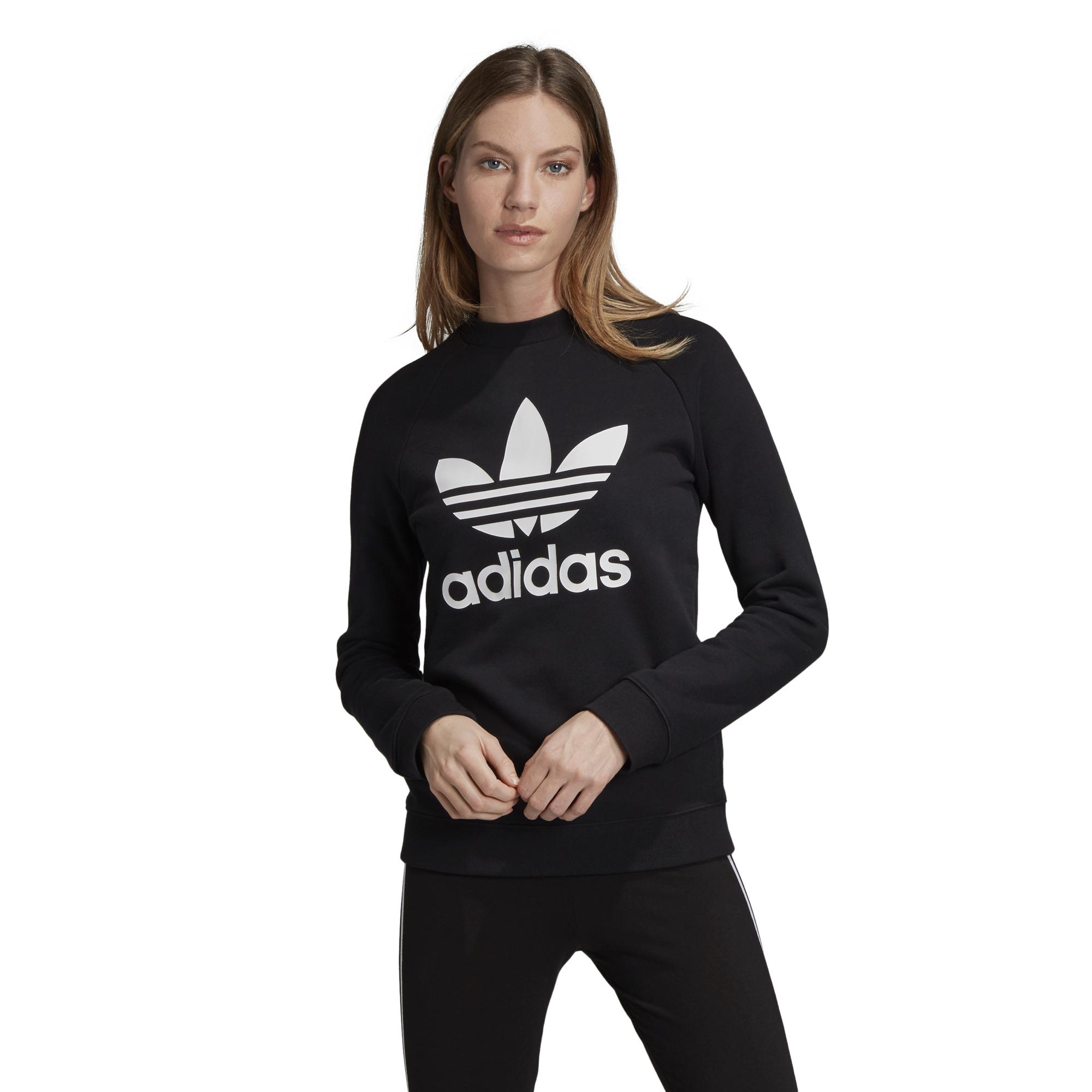 09ba1fa509867 ... bluza adidas Trefoil Crew Sweatshirt DV2612 ...
