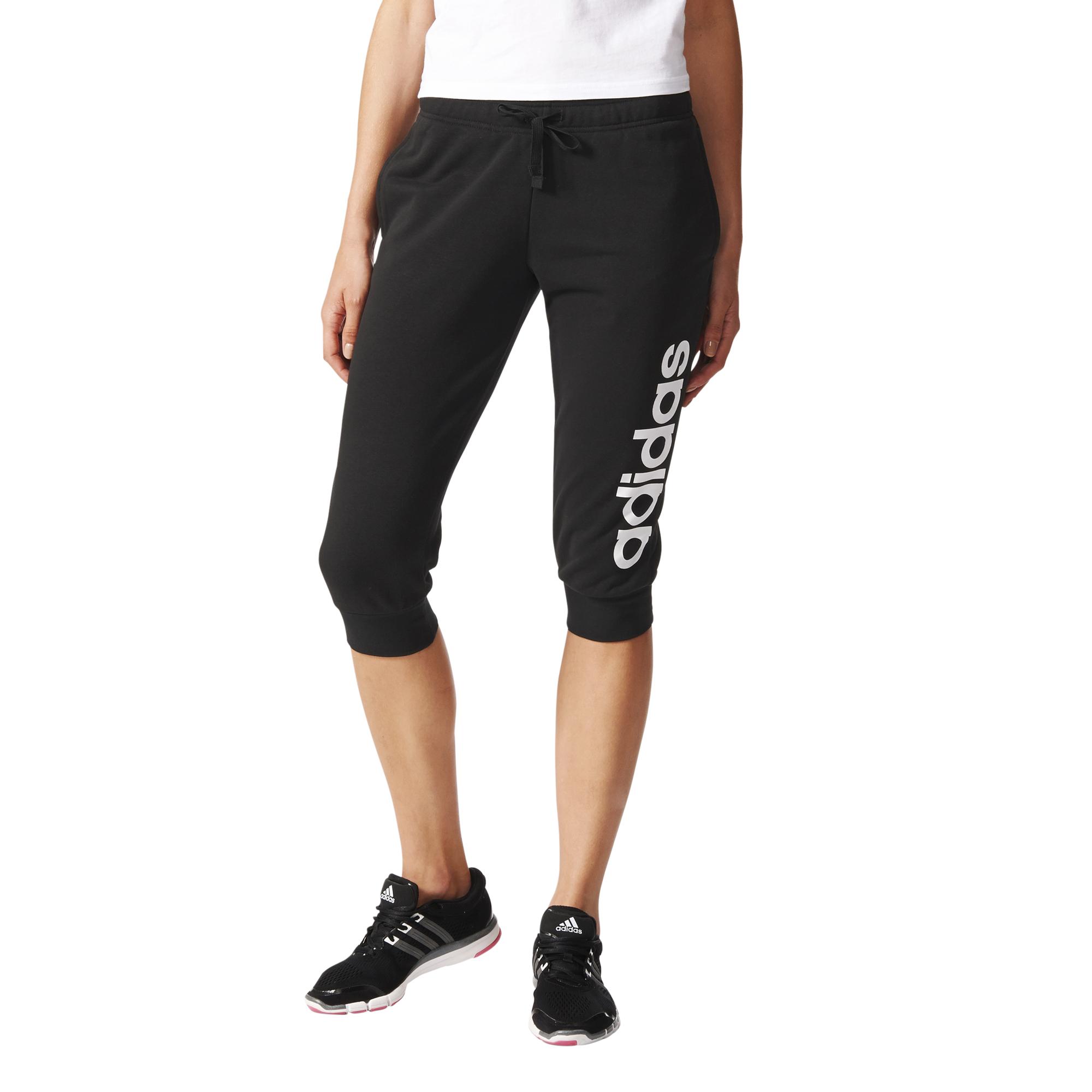 spodnie dresowe damskie adidas ze ściągaczami running