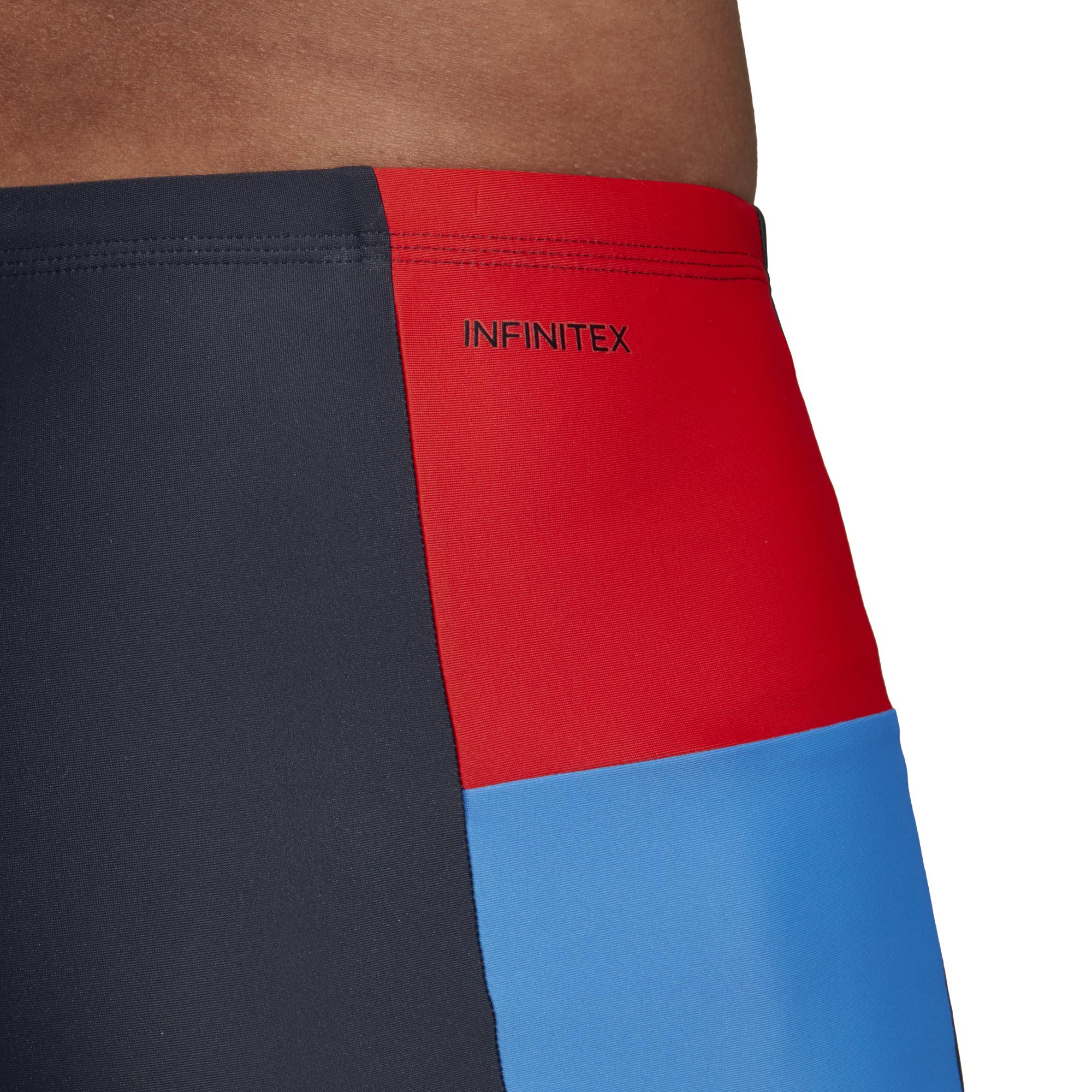 4fc5a038731175 kąpielówki adidas Fitness Colorblock Swim Boxer DP7556    timsport ...