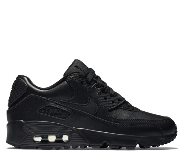 Nike NIKE Air Max 90 sneakers Lady's AIR MAX 90 LEATHER GS dark navy 833,412 412