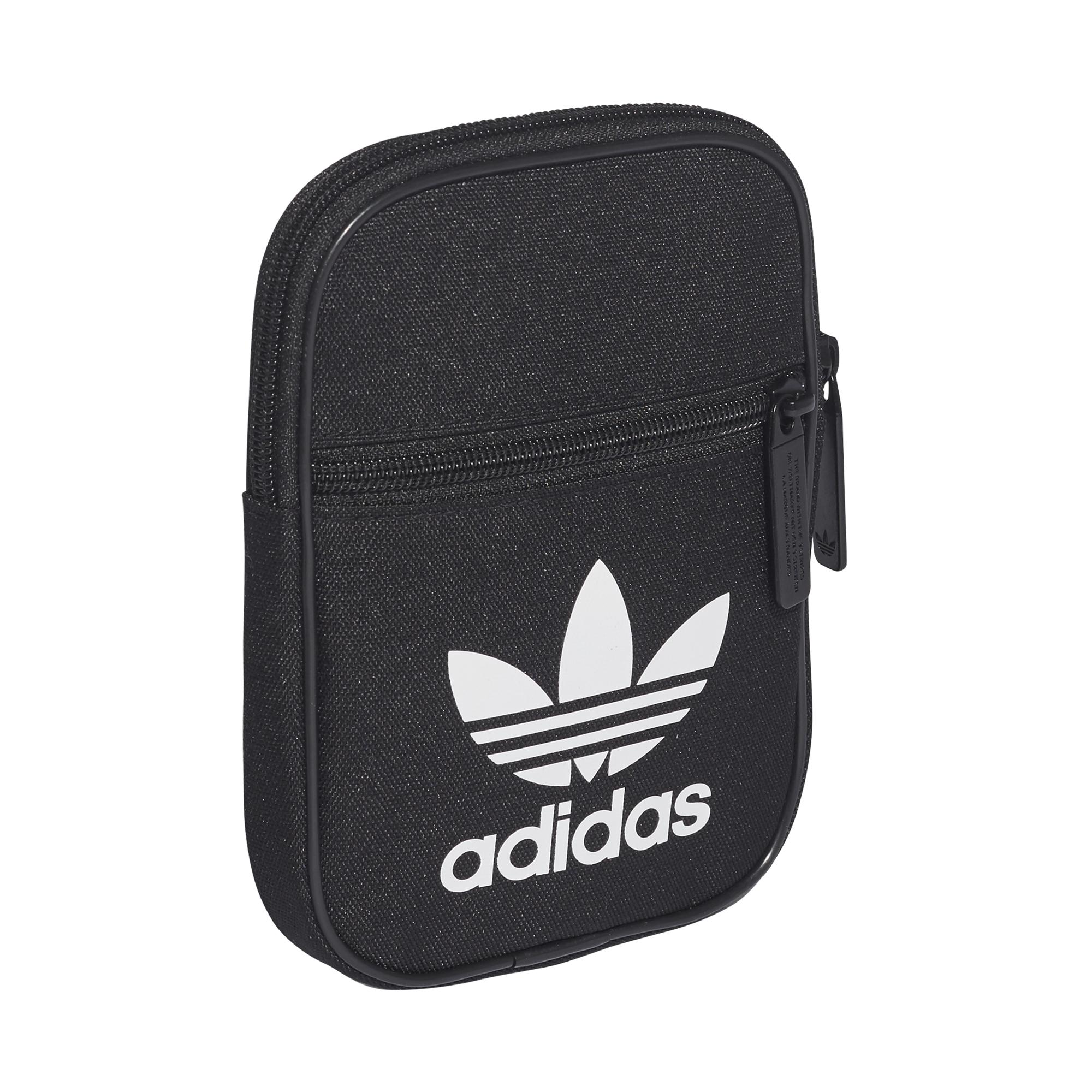451becd70183a mała czarna torebka saszetka adidas Trefoil Festival Bag BK6730 ...